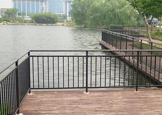 锌钢河道景观护栏