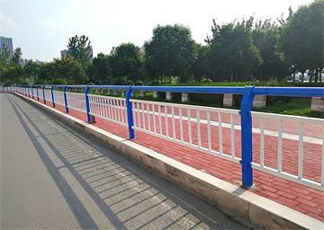 锌钢河道防护栏杆