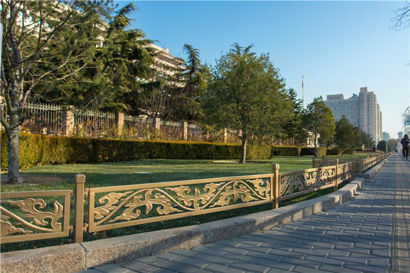 长安街草坪护栏