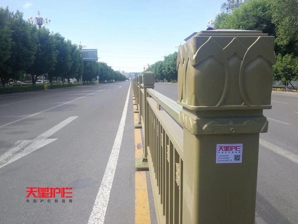 天星金色防撞交通护栏中标新疆伊犁市政工程