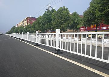 锌钢防撞交通护栏